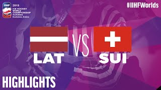 Latvia Vs. Switzerland   Game Highlights