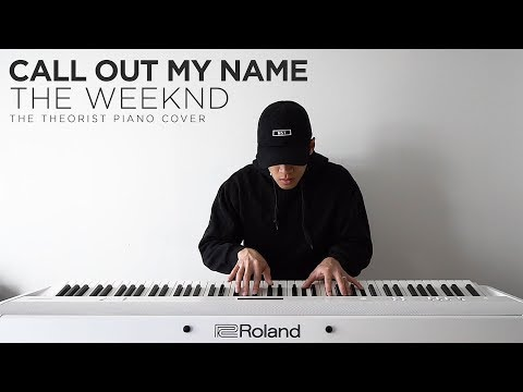 The Weeknd - Call Out My Name | The Theorist Piano Cover