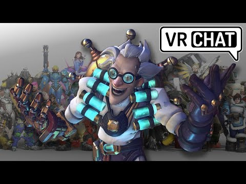 Voice Actor Plays Vr Chat | Overwatch Inavdes VR Chat