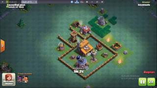 Beat Crusher with sneaky Archers and Boxer giants