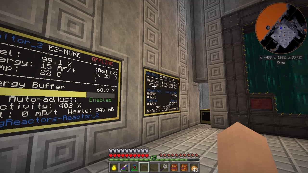 Big Reactor Build Minecraft