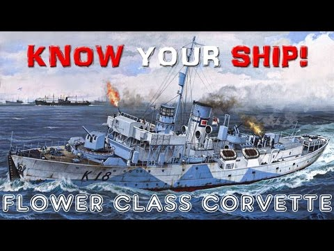 World of Warships - Know Your Ship #20 - Flower Class Corvettes