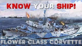World of Warships - Know Your Ship! - Flower Class Corvettes