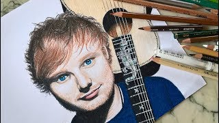 Speed Drawing/ How to draw Ed Sheeran | Lily Fee