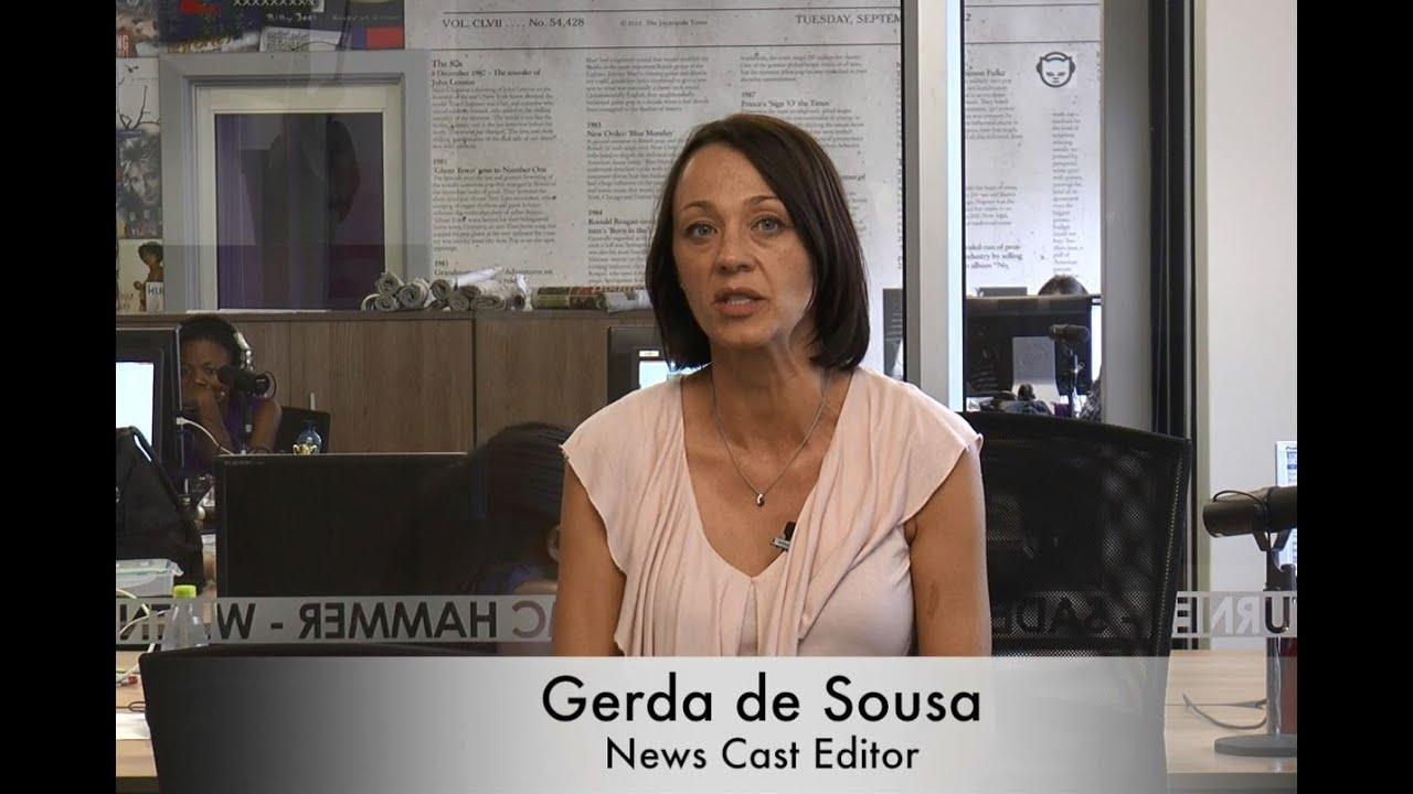 Afternoon news wrap with Gerda de Sousa: 5 February - YouTube