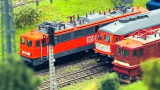 MODEL RAILROAD RAILWAY ACTION SIZE HO SCALE 1:87 / 13. Erlebnis Modellbahn-Messe Dresden 2017