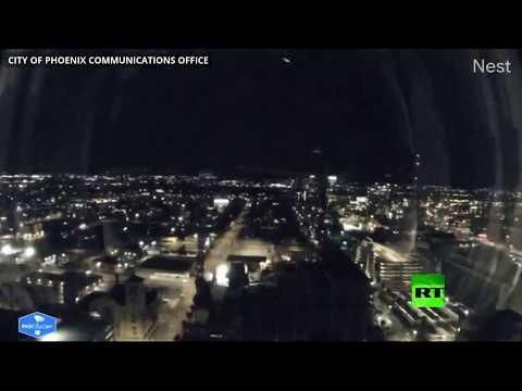كاميرات تسجل لحظة سقوط نيزك في أريزونا  - نشر قبل 6 ساعة