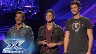 "Hear Restless Road ""Roar!"" - THE X FACTOR USA 2013"