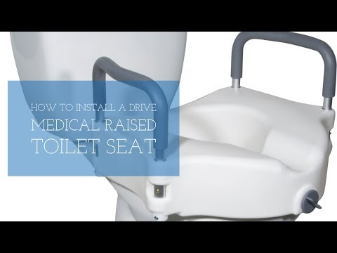 How To Install A Drive Medical Raised Toilet Seat