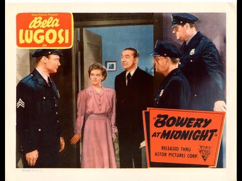 Bowery At Midnight  1942 Full Movie
