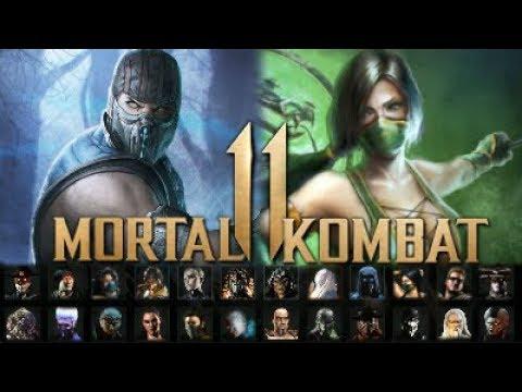 Mortal Kombat 11 Full Character Roster Prediction List 30