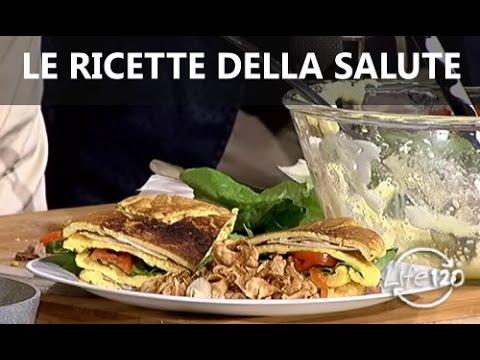 Ricetta LIFE 120 Club sandwich senza farine con bacon e parmigiano