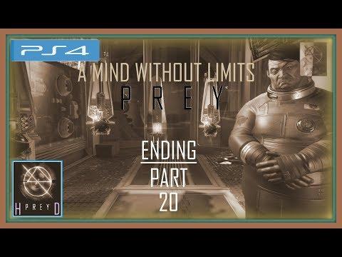"Prey [PS4] - Walkthrough Part 20 (Nightmare Mode & Survival Challenge) ""A Mind Without Limits"" 100% thumbnail"