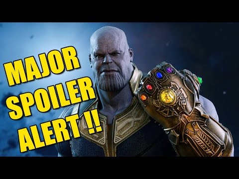 [हिन्दी] Avengers Infinity War Movie Major Spoilers In Hindi | Full Movie All Spoilers Review HD