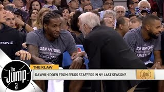 Did Kawhi Leonard's people hide him from Spurs staffers when they tried to visit? | The Jump | ESPN