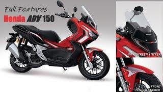 "Full Features ""New Release"" Honda ADV 150cc"