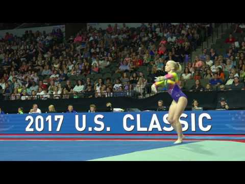 Abi Walker – Floor Exercise – 2017 U.S. Classic – Senior Competition