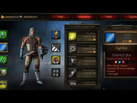 Hướng Dẫn Hack Arcane Quest Legends Mod Full Vàng Không Cần Root-Diablo Mobile