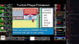 Twitch Plays Pokémon Anniversary Burning Red - Hour 99 to 100