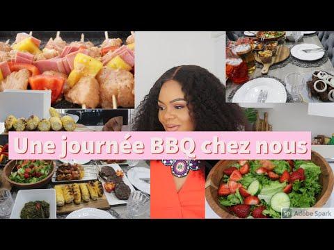 Download Recette rapide pour un BBQ| Brochette au bacon|Hambugers fais maison| Muton|salade|cockttail mojito
