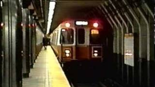 MBTA TRAINS-EARLY 90s