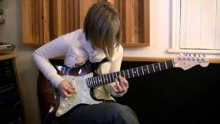 16 year old Guitarist JESS LEWIS plays incredible version of
