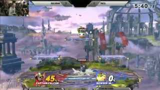 Final Smash Attack - SSB4 High Stakes Invitational 1v1 - iQHQ Gohan vs Tweek