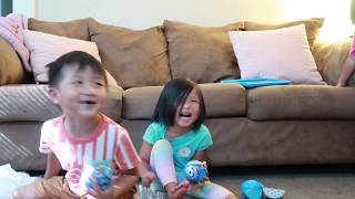 Funny farting toddlers