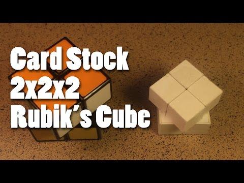 Raconteur Weekly - Cardstock 2x2x2 Rubik's Cube
