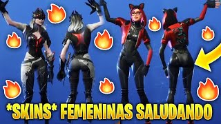 "👉 FORTNITE'S SEXIEST SKINS WITH THE *NEW* ""HOLA,COLEGA""🔥 Fortnite Thicc Season 8"