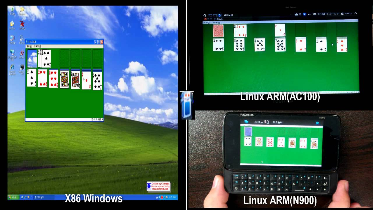 Running x86 MS Windows applications in Linux on ARM architecture (qemu +  wine)