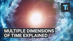 String theory explains multiple dimensions of time