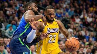 Luka Rips Jersey! Carlisle Ejected! LeBron 35 Points! 2019-20 NBA Season