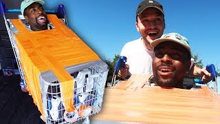 I Duct Taped My Friend Inside A Trolley For A Day And It Was Torture..