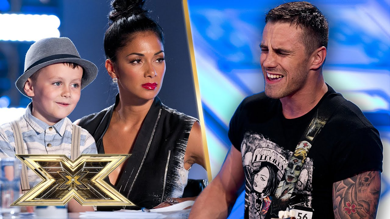 SUPER CUTE! Joseph Whelan's performs to Judges and Number one fan – his SON! | The X Factor UK