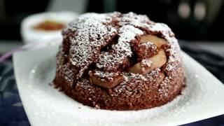 Орехово-грушевый кекс
