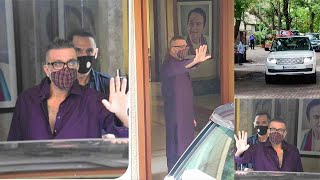 Sanjay Dutt's GRAND WELCOME Home After Making A Full Recovery