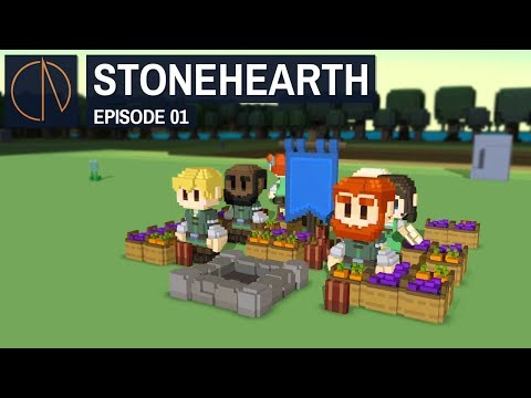 Stonehearth: Alpha 24 | YONKERS OUTPOST (#1)