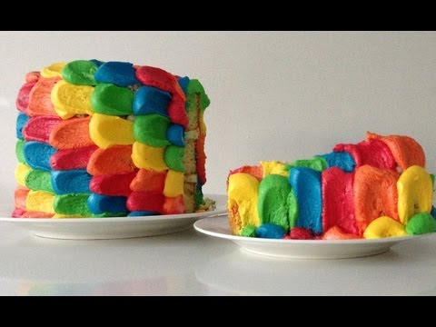 Rainbow Cake Decoration HOW TO Cook That Ann Reardon Travel Video