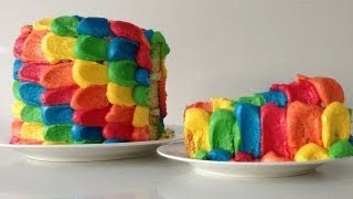 Rainbow Cake Decoration How To Cook That Ann Reardon