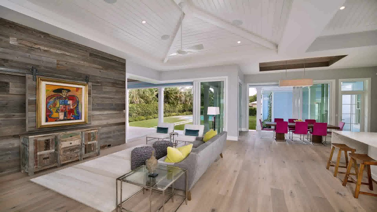 Modern house plans with open concept youtube for Modern house design concepts