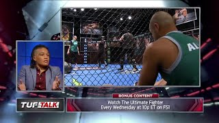 Sijara Eubanks talks about Eddie Alvarez