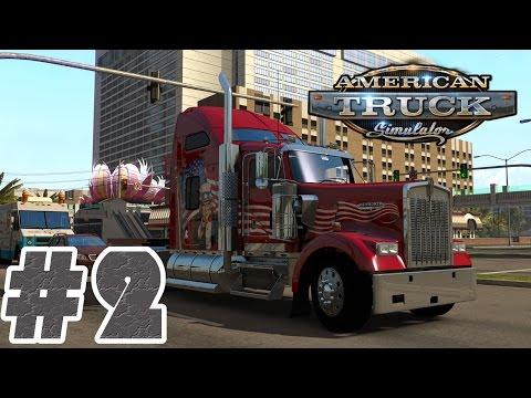 Let's Play American Truck Simulator #002 - Auf nach Nevada