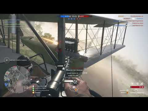 Battlefield 1 - Bomber gameplay and much more