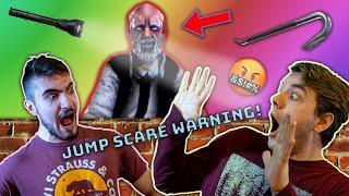 WE GOT CAUGHT! -ERIC SAHN (MOBILE HORROR GAME!)