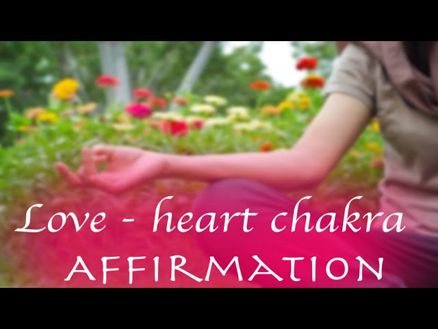 Visual: heart Chakra, Help with relationships, breakups, trauma, emotional abuse