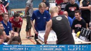 Настольный хоккей-Table hockey-Swedish-2011-NUTTUNEN-GALUZO-Game5-comment-OSTERMAN
