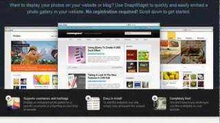 How to add an Instagram photo gallery widget to your website or blog