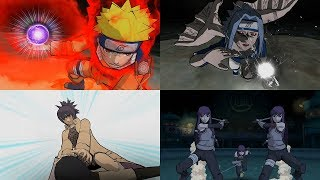 Naruto Clash of Ninja Revolution 2 - All Ultimate Jutsu Ougi 1080p 60 FPS