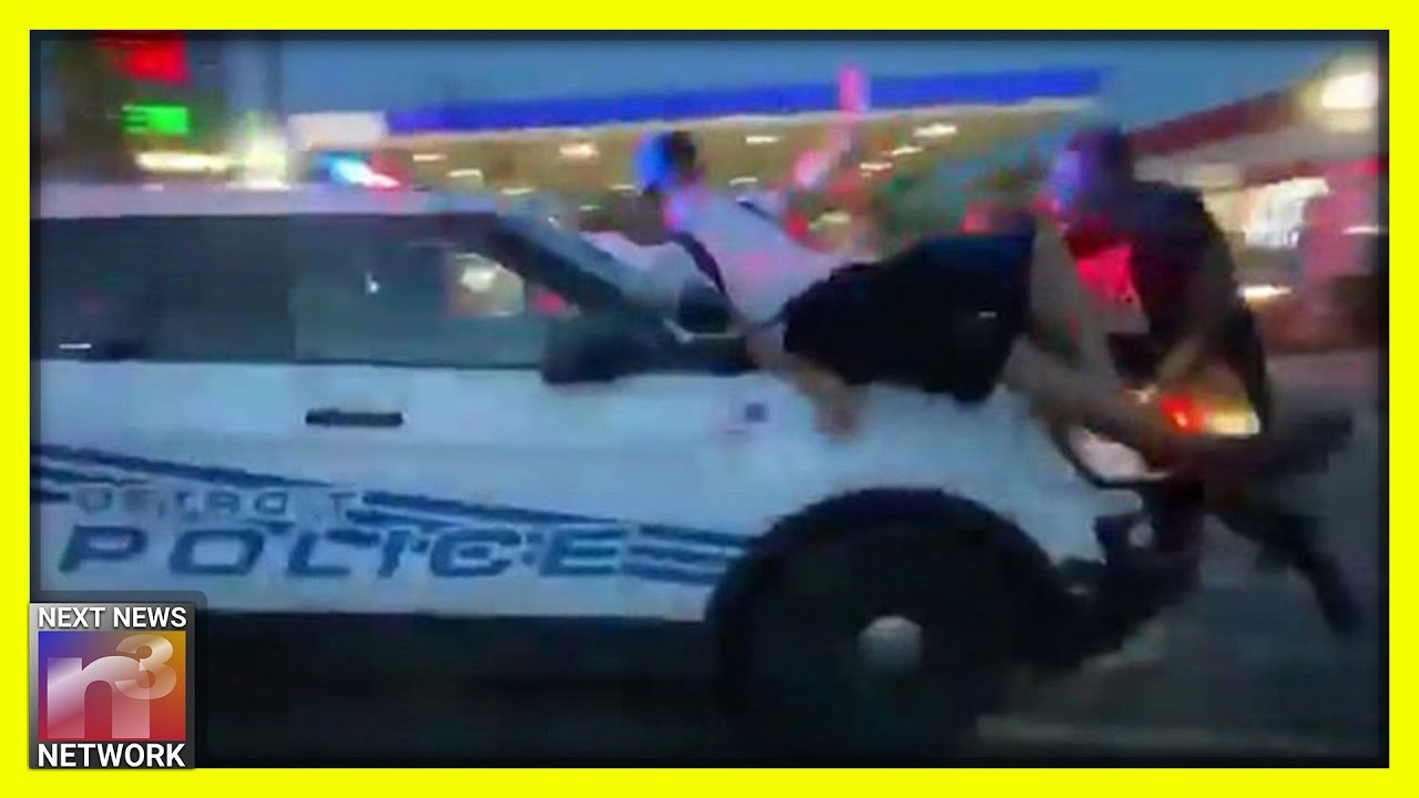 Detroit Policeman Scrambles to Get out of Harmful BLM Situation that Could have Turned Deadly